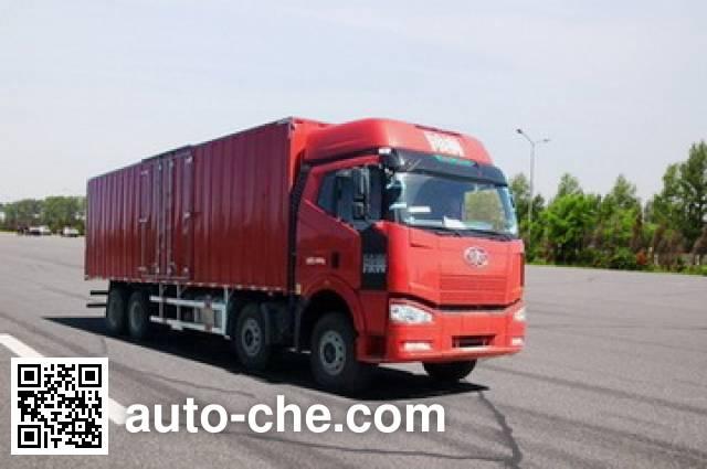 FAW Jiefang CA5310XXYP66K2L7T4A1E1 diesel cabover box van truck