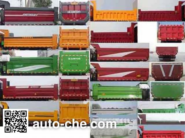 FAW Jiefang CA3310P63L2T4E2M5 natural gas cabover dump truck