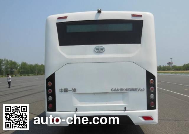 FAW Jiefang CA6109URBEV32 electric city bus