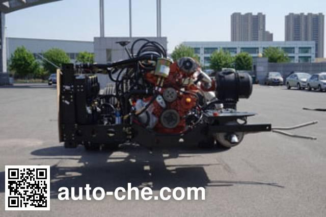 解放牌CA6890CRHEV21混合动力客车底盘