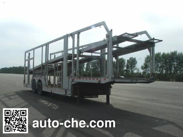 FAW Jiefang CA9201TCL vehicle transport trailer