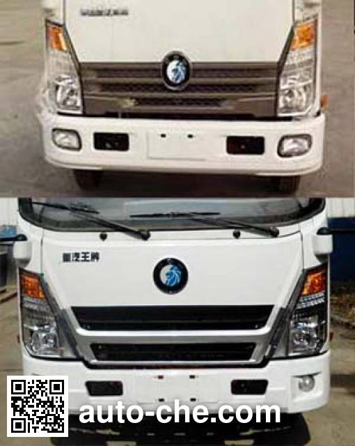 Sinotruk CDW Wangpai CDW5030CCYHA1Q4 грузовик с решетчатым тент-каркасом