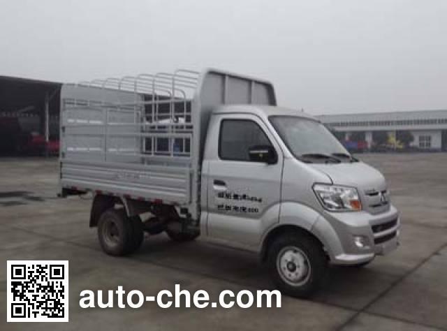 Sinotruk CDW Wangpai CDW5030CCYN2M5Q грузовик с решетчатым тент-каркасом