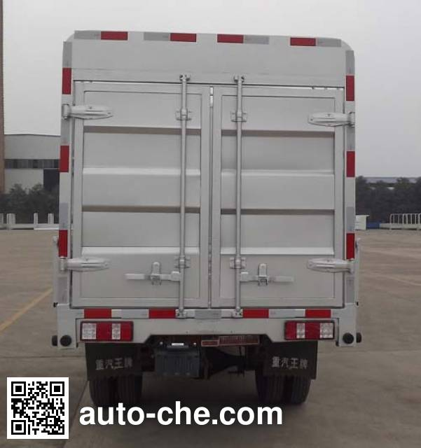 Sinotruk CDW Wangpai CDW5030CCYS2M5Q грузовик с решетчатым тент-каркасом