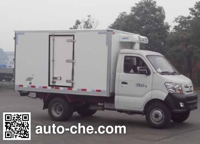 Sinotruk CDW Wangpai CDW5030XLCN1M4 refrigerated truck