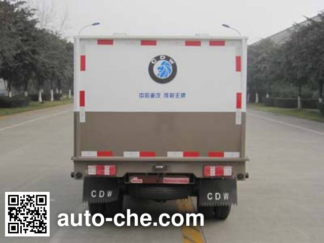 Sinotruk CDW Wangpai CDW5030XTYN1M4 sealed garbage container truck