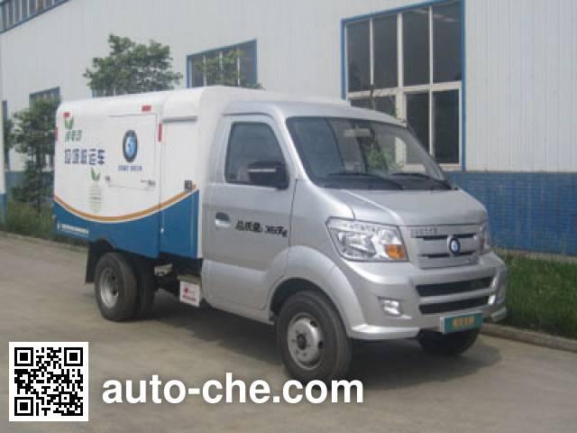 Sinotruk CDW Wangpai CDW5030ZLJEV electric dump garbage truck