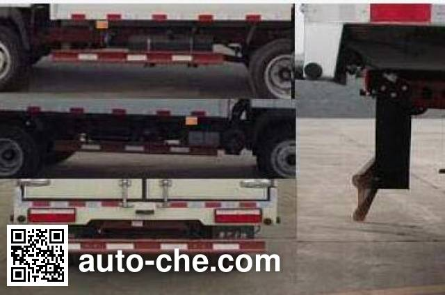 Sinotruk CDW Wangpai CDW5040XXYHA1Q4 box van truck