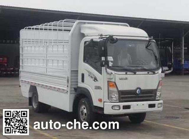 Sinotruk CDW Wangpai CDW5070CCYH2PEV electric stake truck