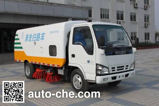 Sinotruk CDW Wangpai CDW5070TXS street sweeper truck