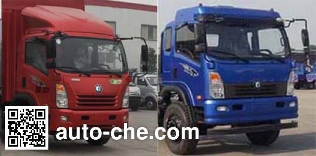 Sinotruk CDW Wangpai CDW5110XXYA2R5 box van truck