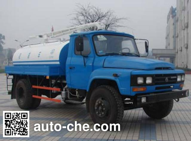 Sinotruk CDW Wangpai CDW5102GXE vacuum suction truck