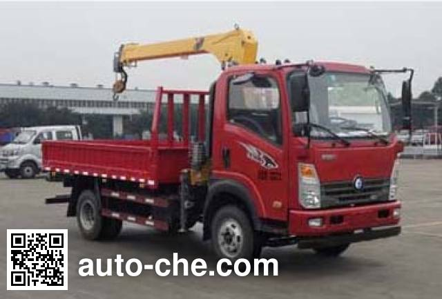 Sinotruk CDW Wangpai CDW5110JSQHA2R5 truck mounted loader crane