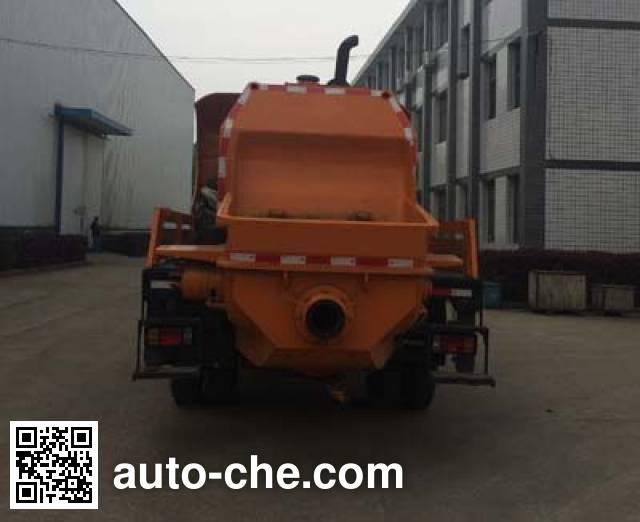 Sinotruk CDW Wangpai CDW5111THBHA2R5 concrete pump truck