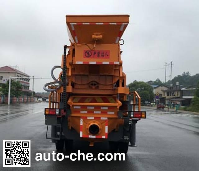 Sinotruk CDW Wangpai CDW5140THBA2R5 truck mounted concrete pump