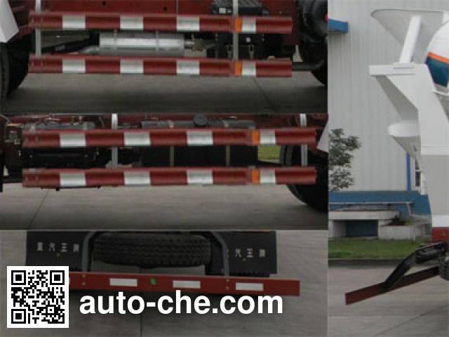 Sinotruk CDW Wangpai CDW5160GJBA1R4 concrete mixer truck