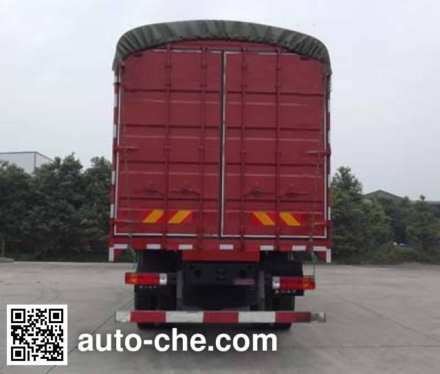 Sinotruk CDW Wangpai CDW5252CPYA1T4 soft top box van truck