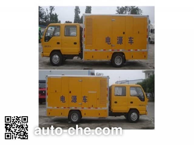 Shuangyan CFD5060XDY мобильная электростанция на базе автомобиля