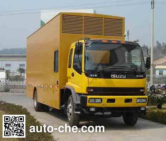 Changfeng CFQ5160TDY мобильная электростанция на базе автомобиля