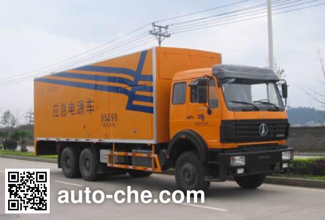Changfeng CFQ5220TDY мобильная электростанция на базе автомобиля