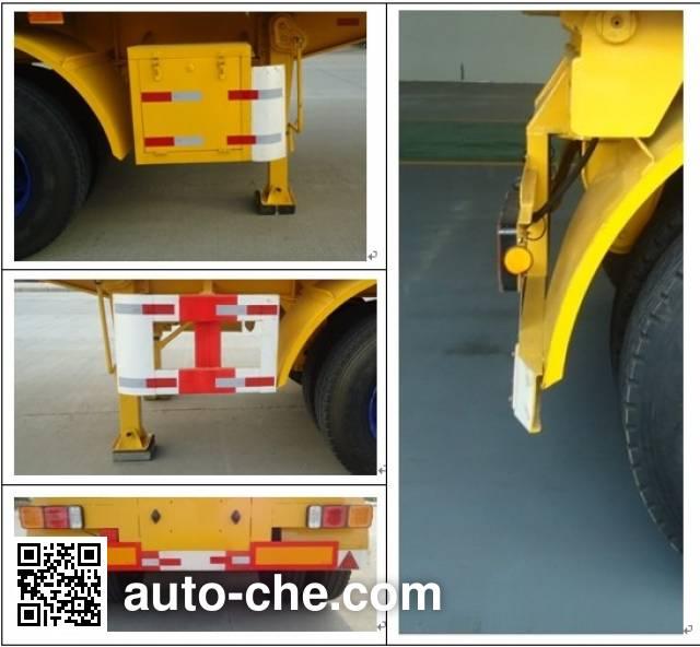 Changfeng CFQ9400ZZXP полуприцеп самосвальный с безбортовой платформой