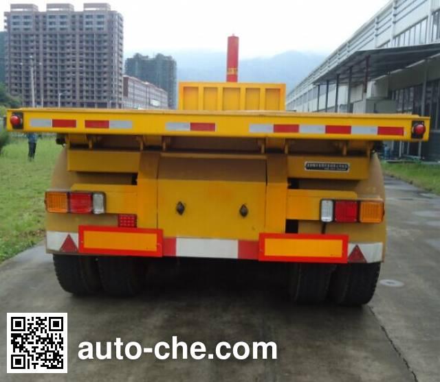 Changfeng CFQ9401ZZXP полуприцеп самосвальный с безбортовой платформой