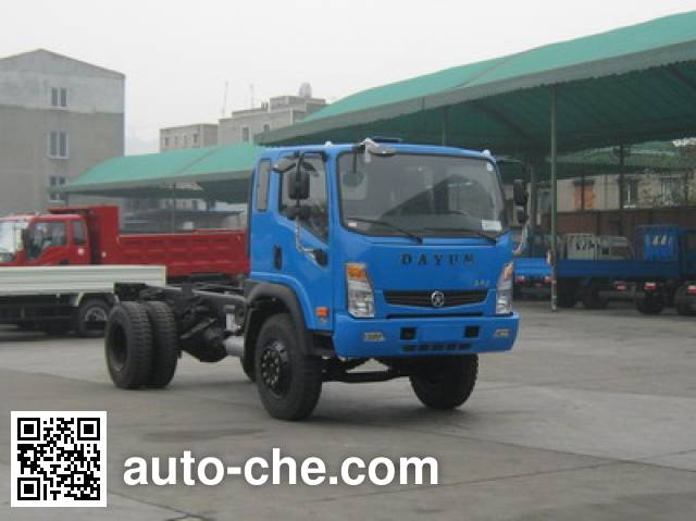 Dayun CGC3160HDD37D dump truck chassis