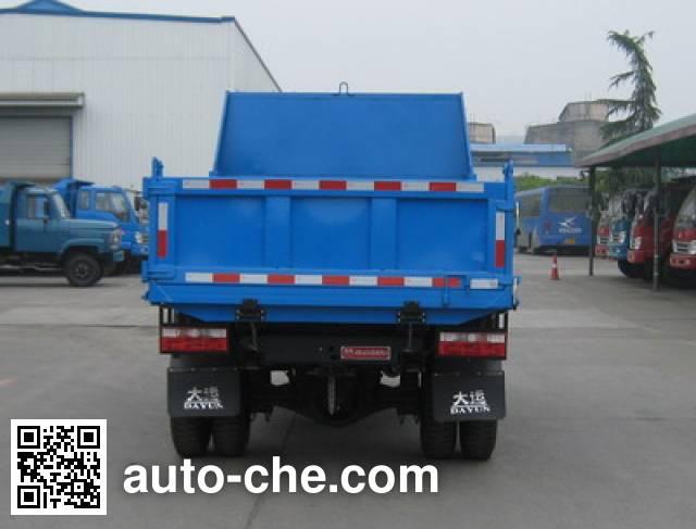 Dayun CGC4010PD2 low-speed dump truck