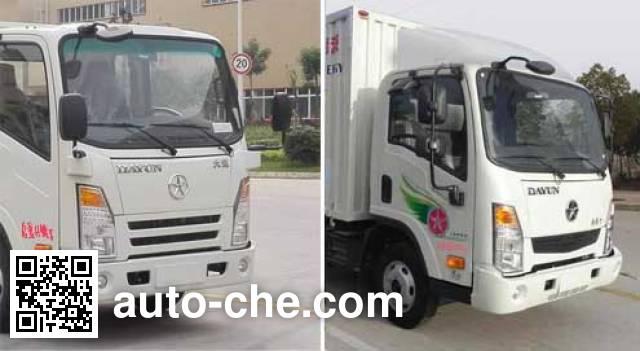 大运牌CGC5040XXYBEV1CAH0纯电动厢式运输车