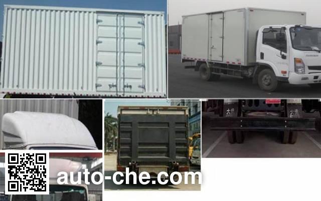 Dayun CGC5070XXYBEVBB33 electric cargo van