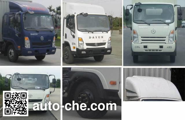 Dayun CGC5100XXYHDE39E box van truck