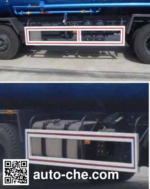 Dayun CGC5310GFLD4RDA low-density bulk powder transport tank truck