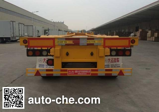 Dayun CGC9401TJZ382 container transport trailer
