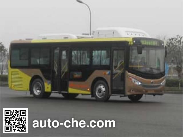 恒通客车牌CKZ6851HNHEVB5插电式混合动力城市客车