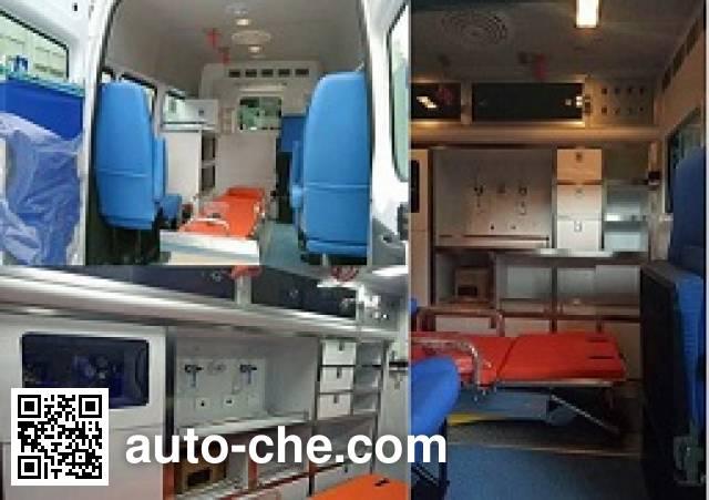 程力威牌CLW5041XJHJ5救护车