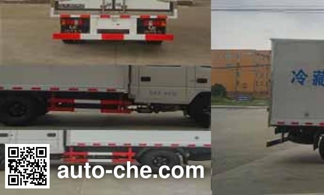 程力威牌CLW5042XLCJ5冷藏车