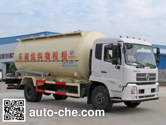 程力威牌CLW5160GFLD5低密度粉粒物料运输车