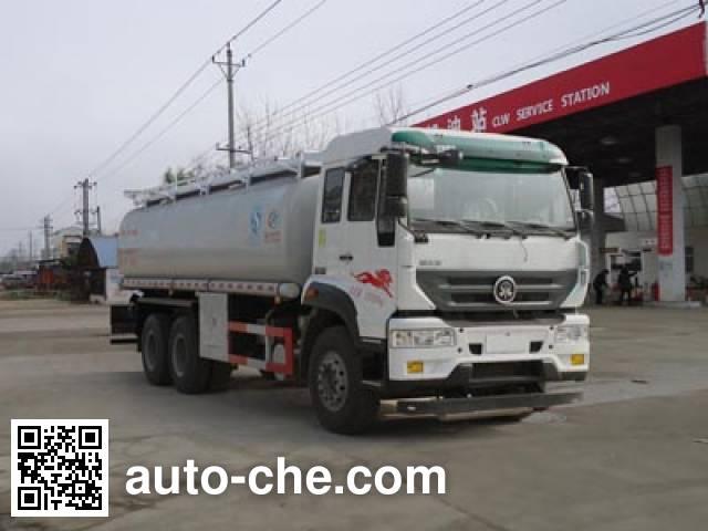Chengliwei CLW5250TGYZ5 oilfield fluids tank truck
