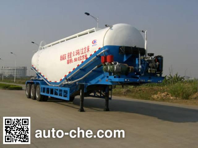 程力威牌CLW9400GFL粉粒物料运输半挂车