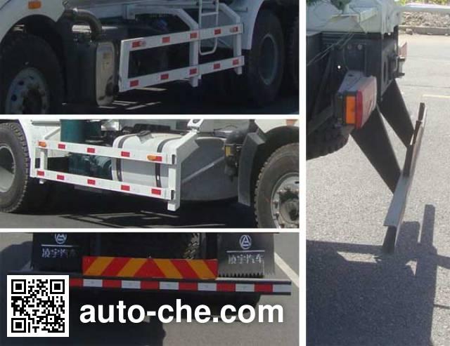 Lingyu CLY5250GXHCA pneumatic discharging bulk cement truck