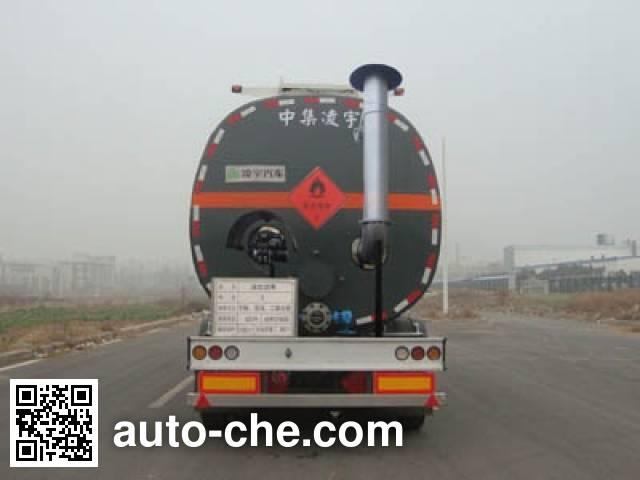 CIMC Lingyu CLY9400GLY liquid asphalt transport tank trailer