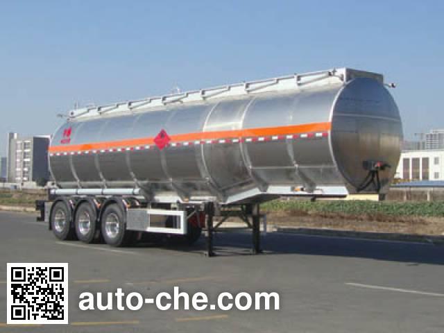 CIMC Lingyu CLY9401GRYF flammable liquid aluminum tank trailer