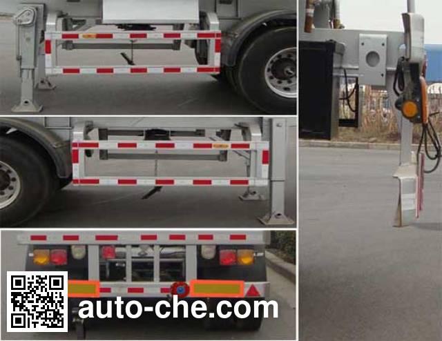 CIMC Lingyu CLY9402GRY flammable liquid tank trailer