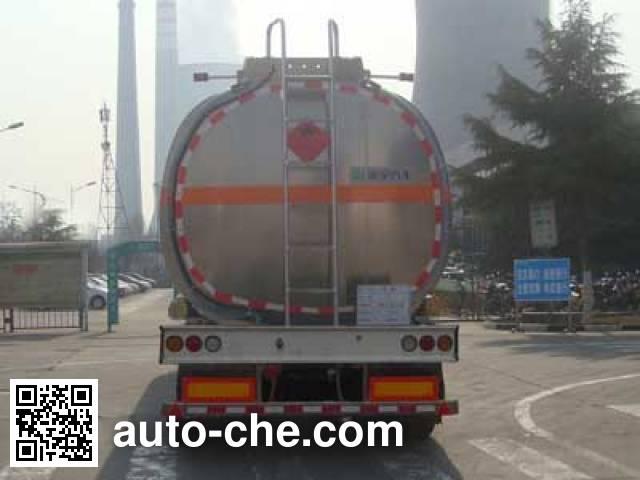 CIMC Lingyu CLY9407GYYA aluminium oil tank trailer