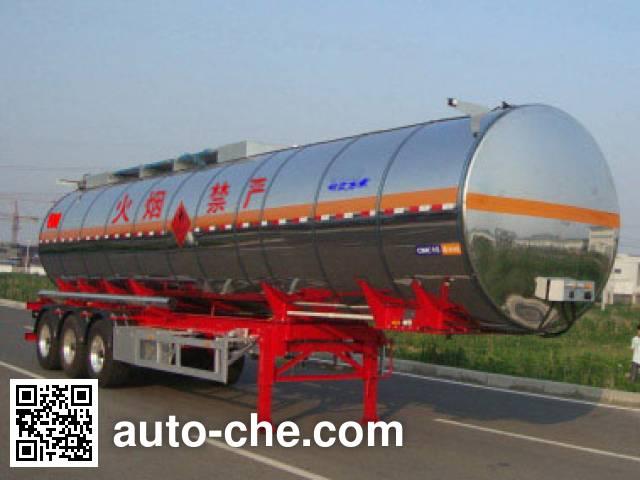 CIMC Lingyu CLY9408GRYC flammable liquid tank trailer