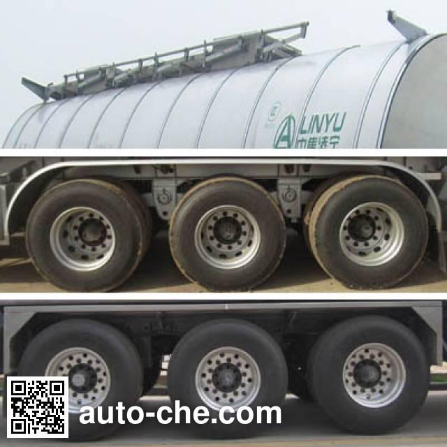 CIMC Lingyu CLY9408GRYM flammable liquid tank trailer