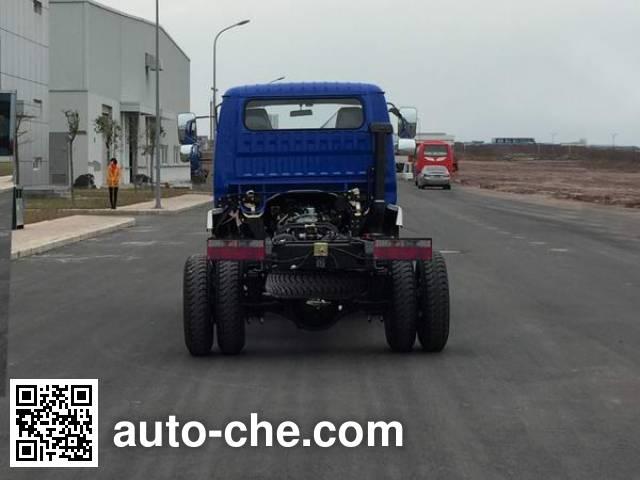 CNJ Nanjun CNJ3040EP28V dump truck chassis