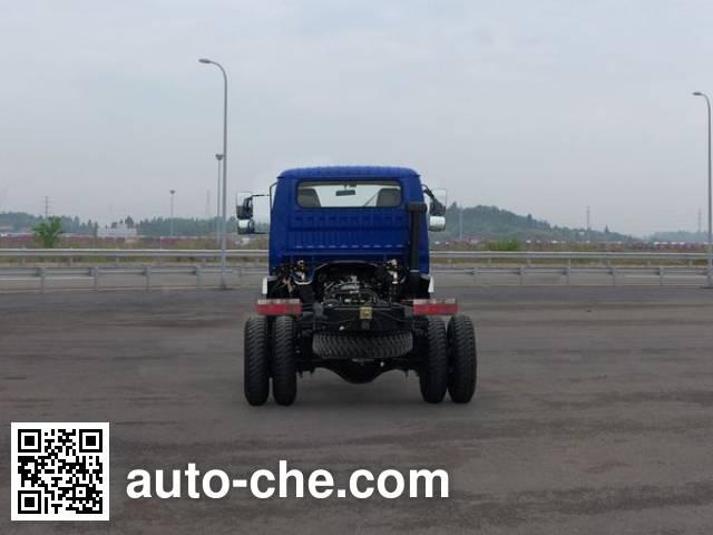 CNJ Nanjun CNJ3040EP31V dump truck chassis