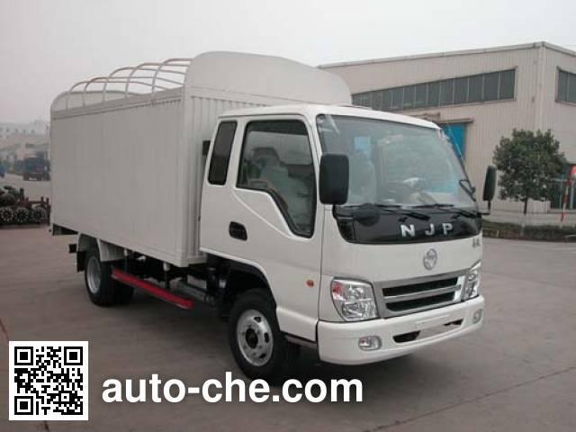 CNJ Nanjun CNJ5040XXPFP33B1 soft top box van truck