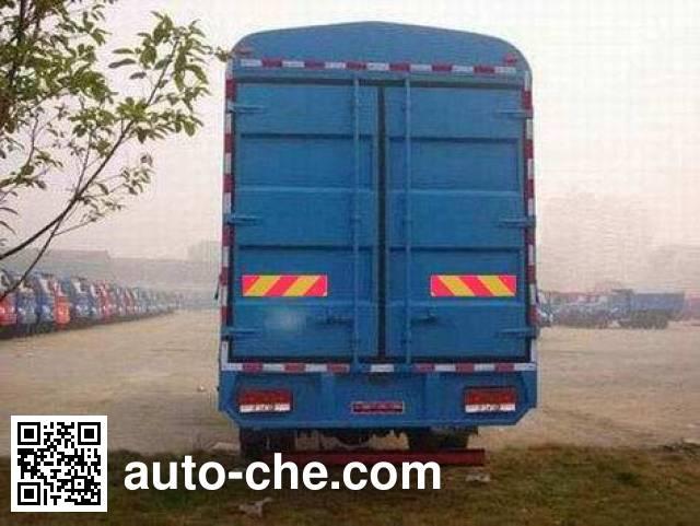 南骏牌CNJ5160CCYPP48M仓栅式运输车